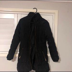 H&M black puffer jacket